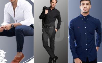 #VJTIPS | Camisas básicas para hombre, nuestras mejores aliadas