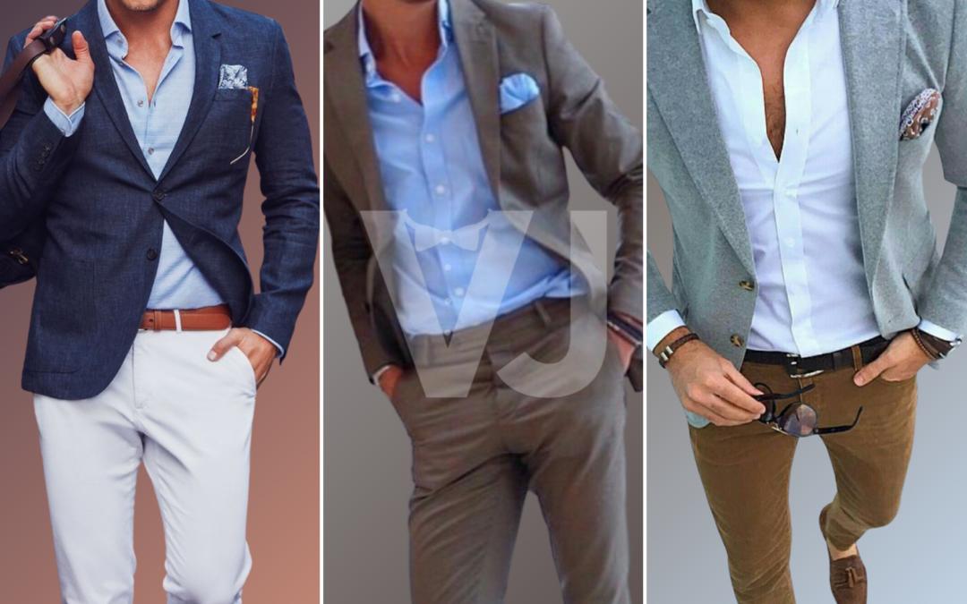 #VJTIPS | 3 Outfits informales con pañuelo de bolsillo