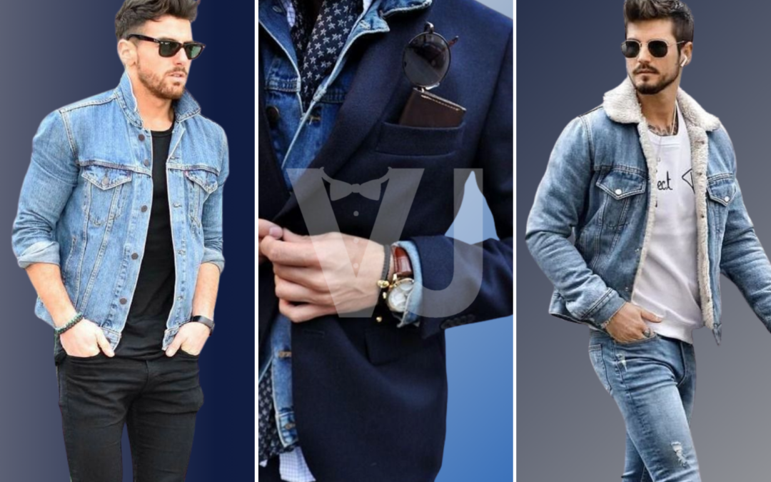 #VJTIPS | Chaqueta denim, imprescindible en todo armario masculino